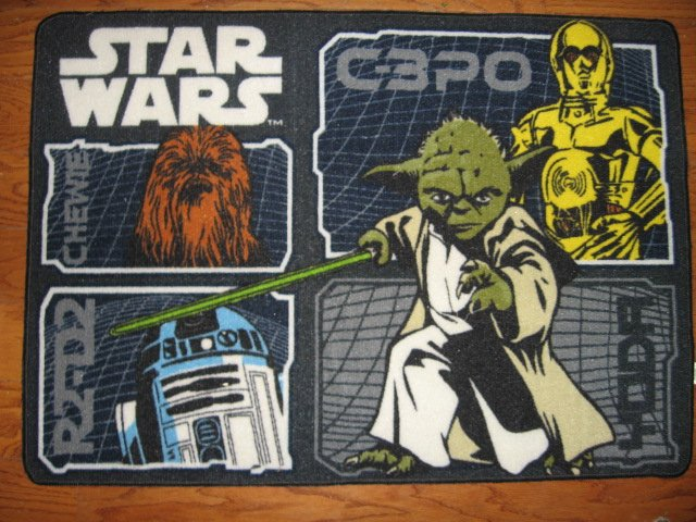 Image 0 of Star Wars characters Floor Mat 31