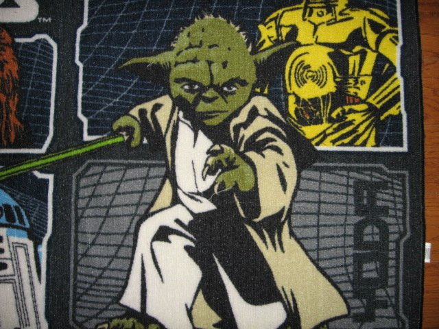 Image 1 of Star Wars characters Floor Mat 31