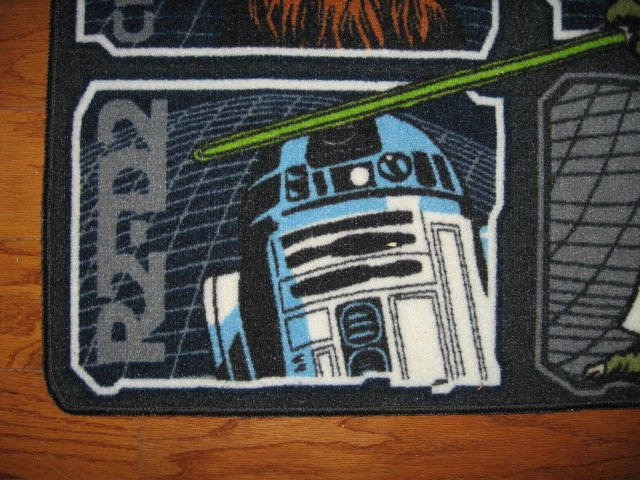 Image 2 of Star Wars characters Floor Mat 31