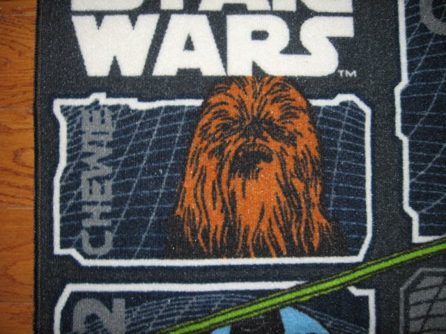 Image 3 of Star Wars characters Floor Mat 31