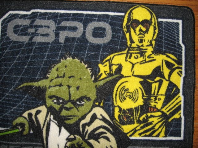 Image 4 of Star Wars characters Floor Mat 31