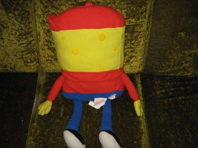 Image 1 of spongeBob doll 28 inches Head to toe plush