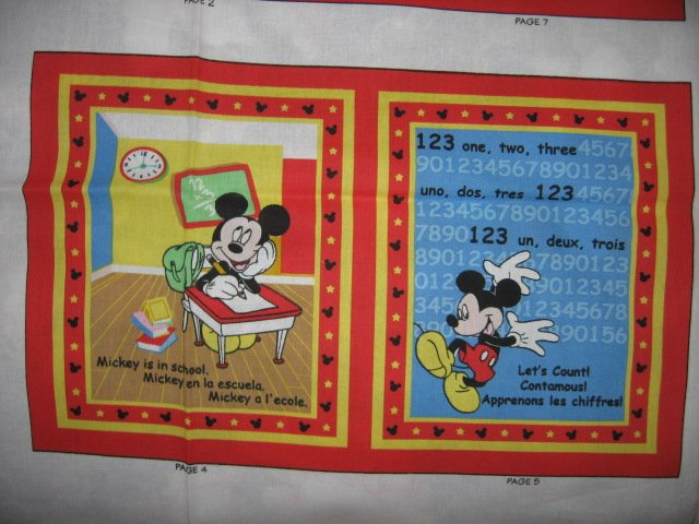 Image 1 of Mickey Mouse Disney All about