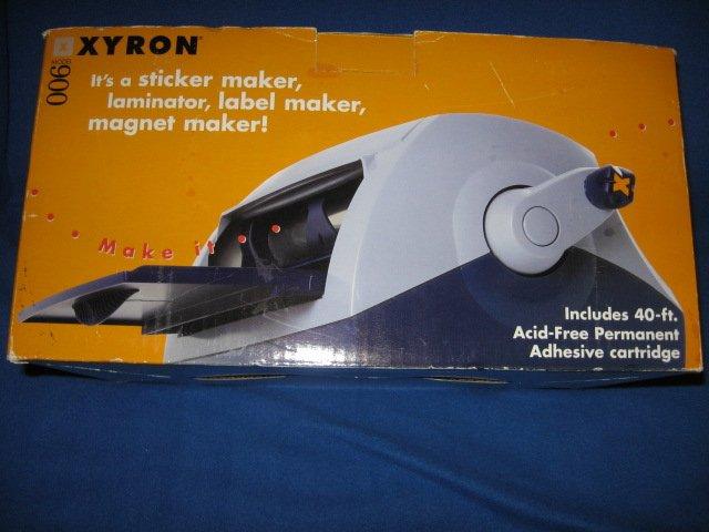 Xyron 900 laminator hobby machine new