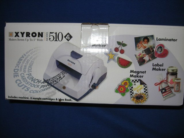 Image 0 of Xyron 510 laminator hobby machine new