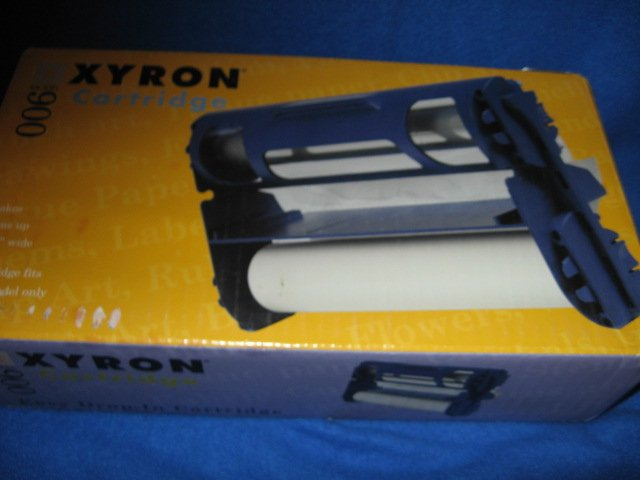 Xyron 900 cartridge acid free adhesive repositionable new