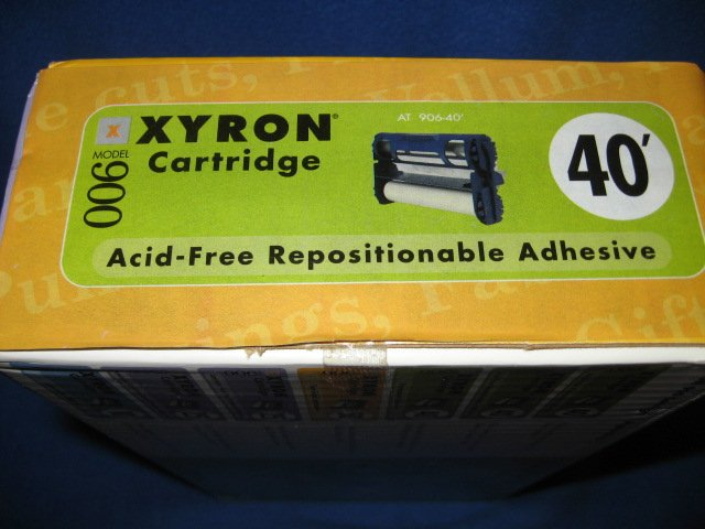 Image 1 of Xyron 900 cartridge acid free adhesive repositionable new
