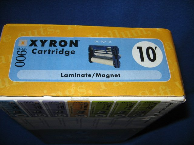 Image 1 of Xyron 900 cartridge laminate/magnet new