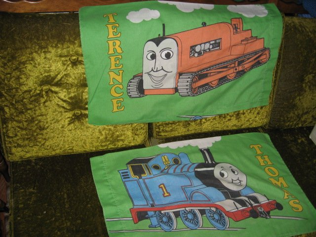 Thomas the Train Pillow Case set of Two