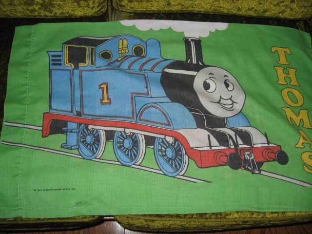 Image 1 of Thomas the Train Pillow Case set of Two