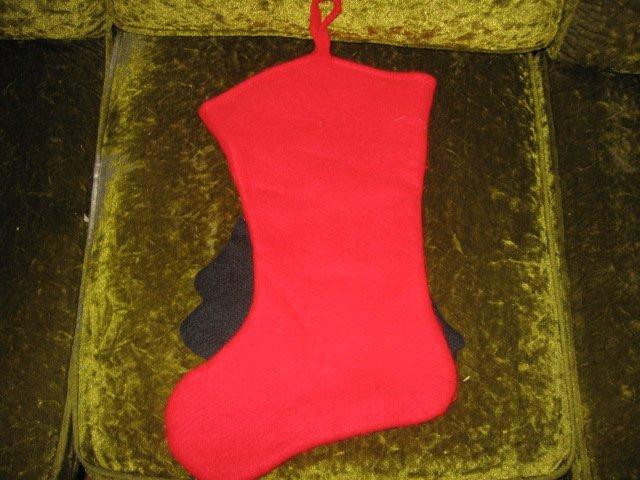 Image 1 of Disney Snow White  18 inch felt Christmas stocking