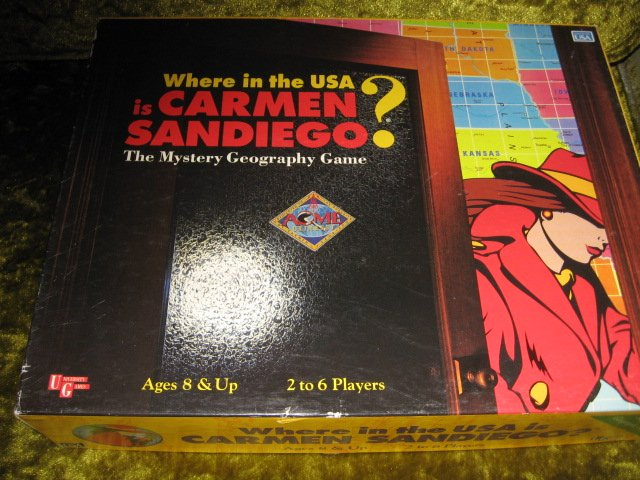 Image 2 of Where in the USA is Carmen Sandiego Mystery Geography Game