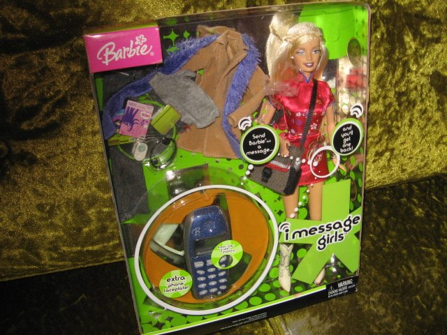 Image 2 of Barbie Doll and accessories I Message Girls New In Box