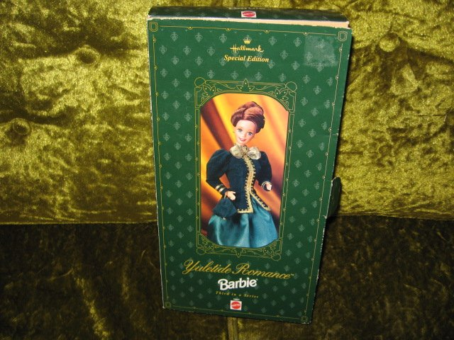 Image 0 of Barbie Hallmark Yuletide Romance edition new in box rare 1996