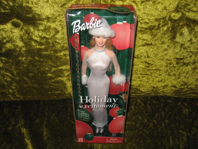 Image 0 of Barbie Holiday Excitement  new in box rare 2001