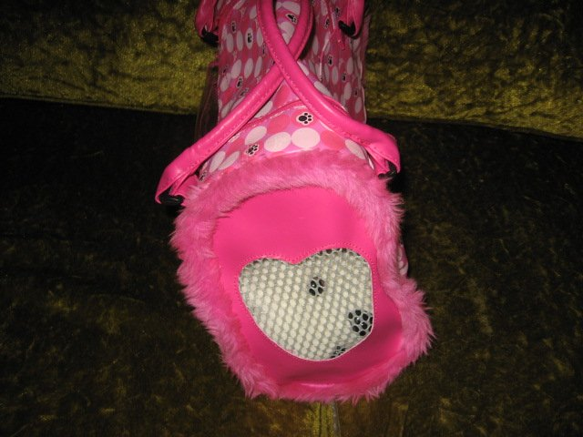 Image 1 of Barbie pet dog carrying case with dog