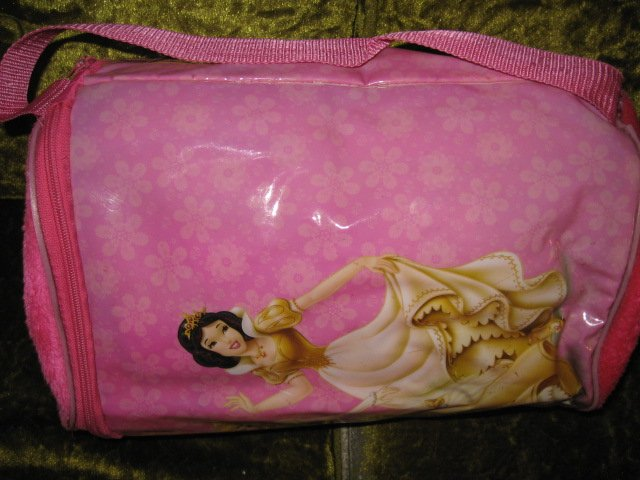 Image 1 of Disney Princess sleeping bag with carrying case