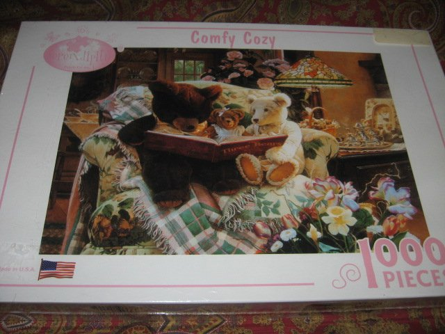 Image 2 of Comfy Cozy 1000 piece puzzle 20 X 27
