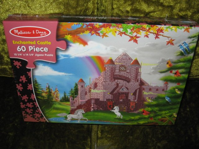 Enchanted Castle 60 pc sealed Puzzle new 10 by 14