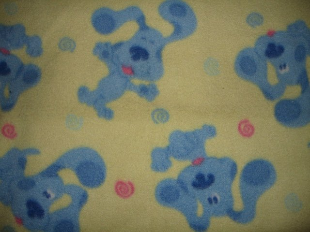 Image 1 of Blues Clues fleece baby blanket  29