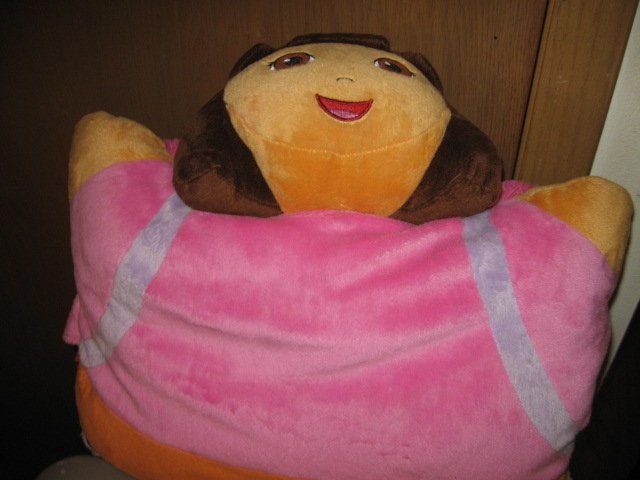 Image 0 of Dora the Explorer 17 inch plush Pillow Pet