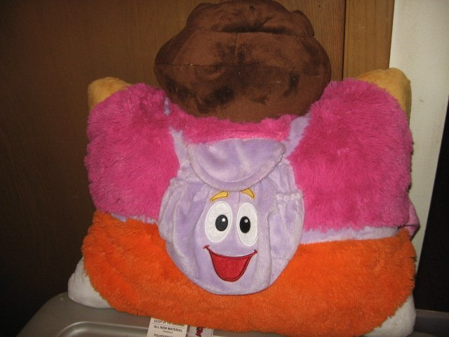 Image 1 of Dora the Explorer 17 inch plush Pillow Pet