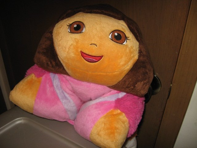 Image 2 of Dora the Explorer 17 inch plush Pillow Pet