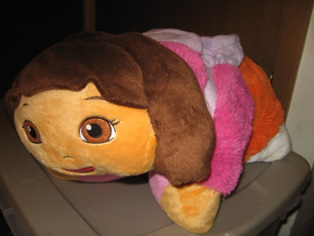 Image 3 of Dora the Explorer 17 inch plush Pillow Pet