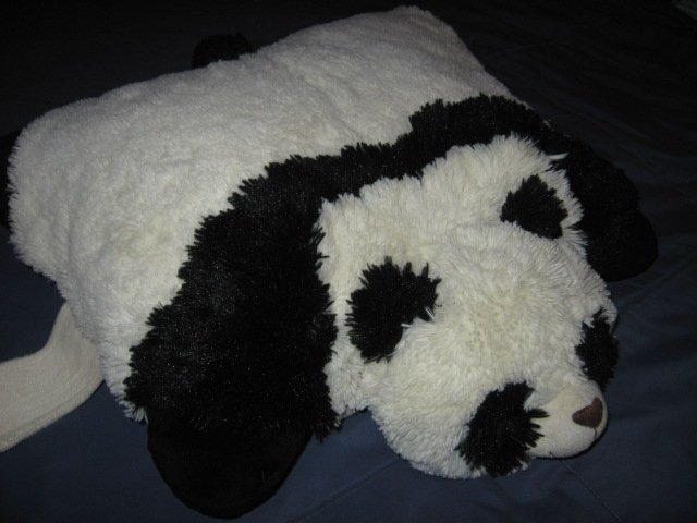 Panda Pillow Pet  cushion or pillow