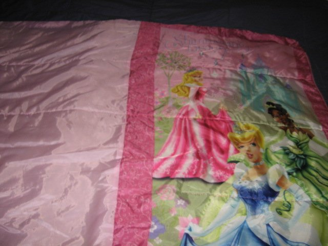 Image 2 of Disney sleeping beauty and friends comforter or sleeping bag 52X55 inches/
