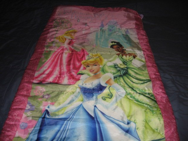 Image 3 of Disney sleeping beauty and friends comforter or sleeping bag 52X55 inches/