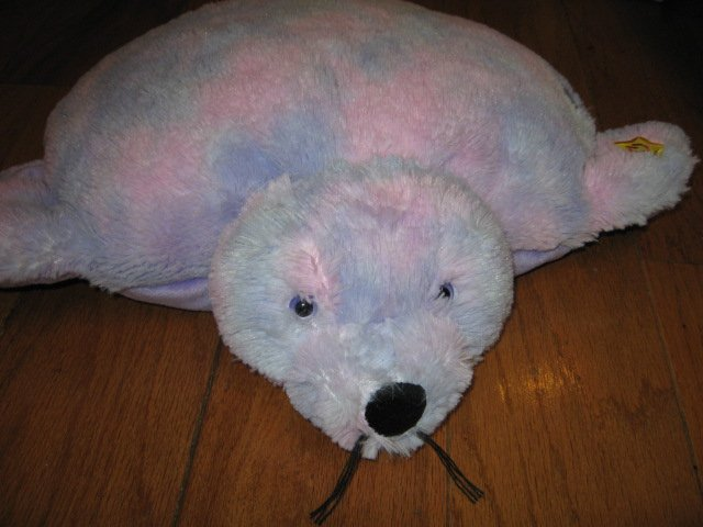 Seal pillow pet plush pillow