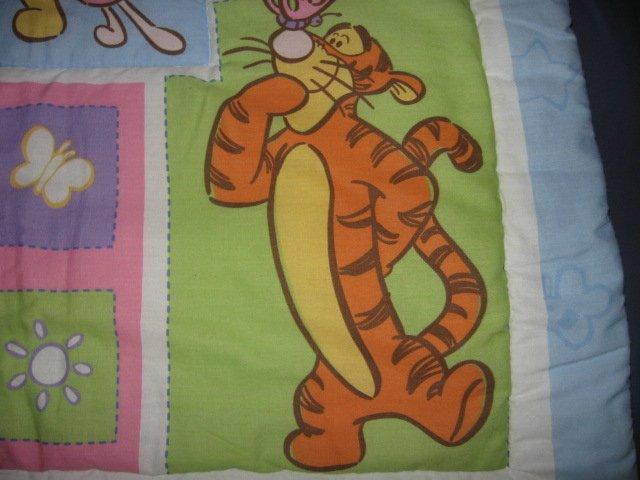 Image 2 of Disney Winnie the Pooh Eeyore Tigger Roo quilt