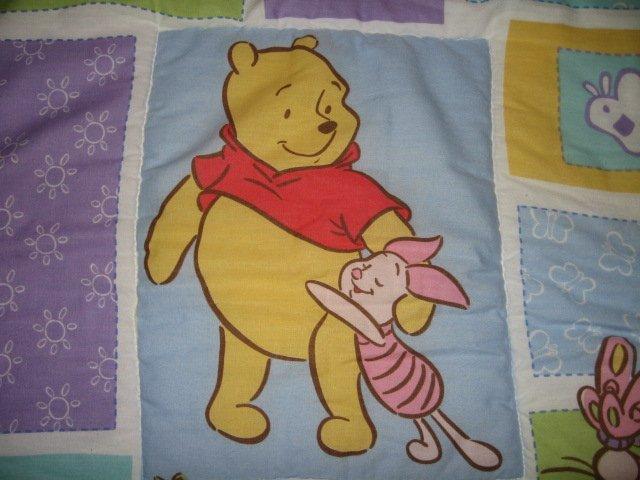 Image 4 of Disney Winnie the Pooh Eeyore Tigger Roo quilt