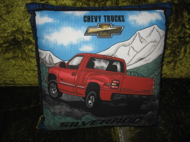 Chevy Silverado Throw Pillow