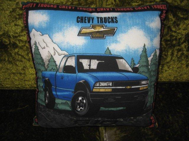 Image 1 of Chevy Silverado Throw Pillow