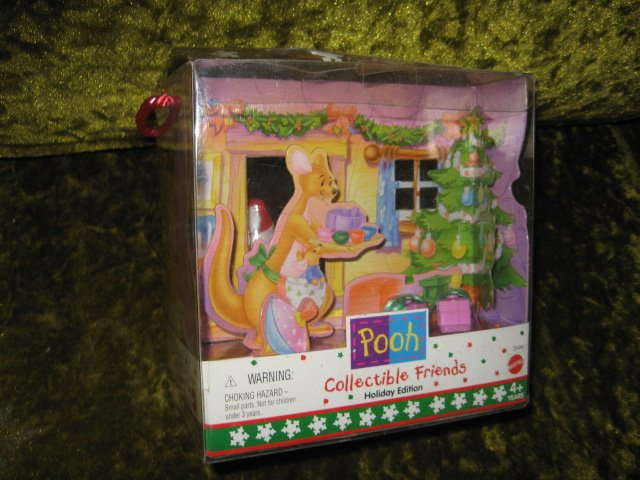 Image 1 of Pooh Holiday Edition collectible friends  NIB  4 plus years
