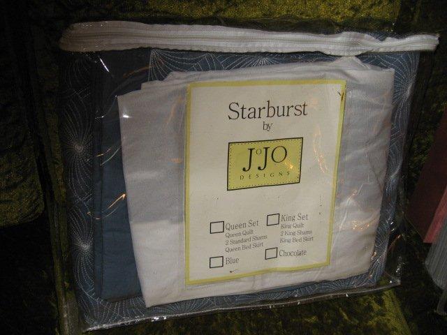 Starburst Quilt JoJo Queen Quilt Set NIB