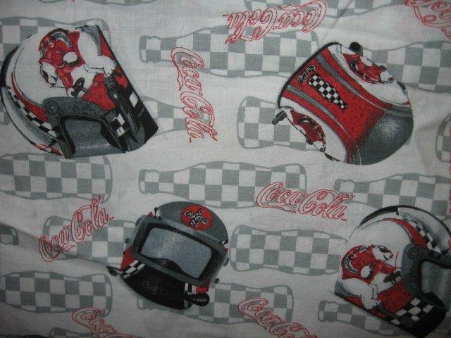 Coca-Cola polar bear helmet racing game one piece  rare