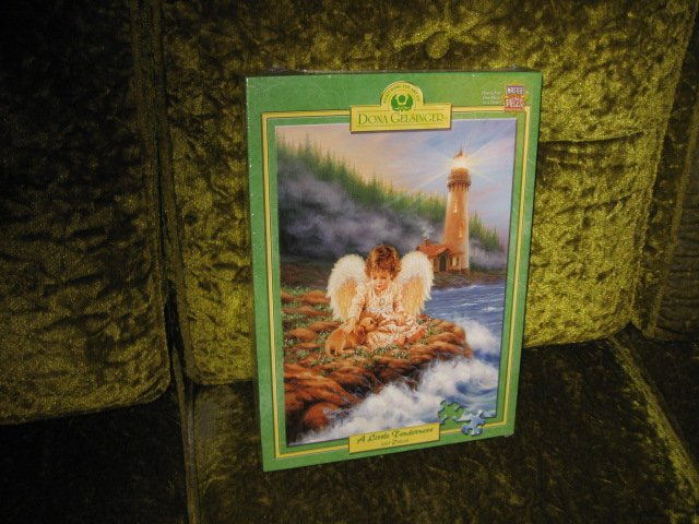 Image 0 of Dona Gelsinger Tenderness 550 pc Puzzle 18 inch by 24 inch NIB