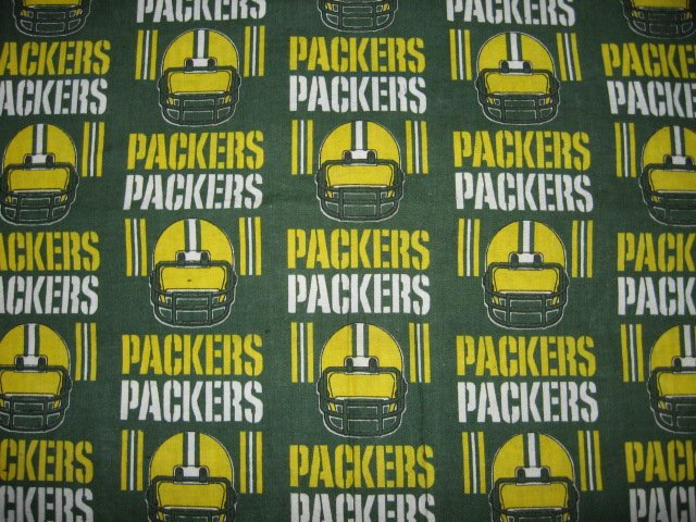 Image 0 of Green Bay Packers fabric by the yard
