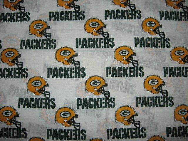 Image 0 of Green Bay Packers helmet fabric