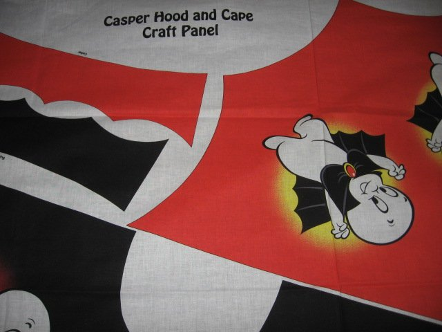 Casper the Friendly Ghost Holloween costume hood cape to make