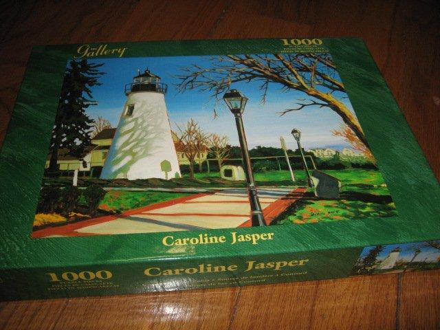 Lighthouse Concord Light Point Puzzle Caroline Jasper 20 by 26