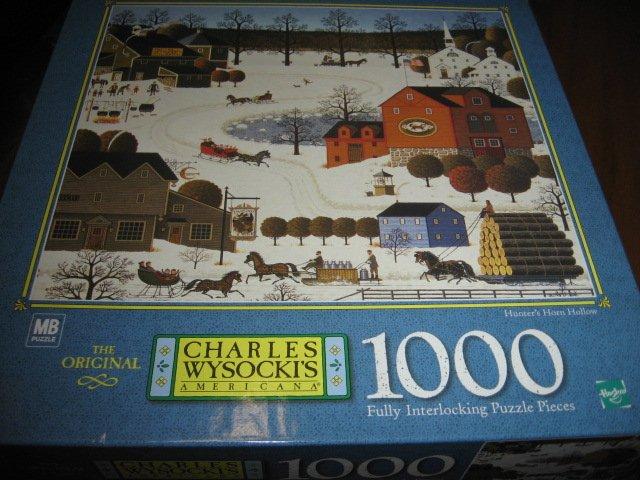 Americana Charles Wysocki  1000 piece puzzle 22 X 25