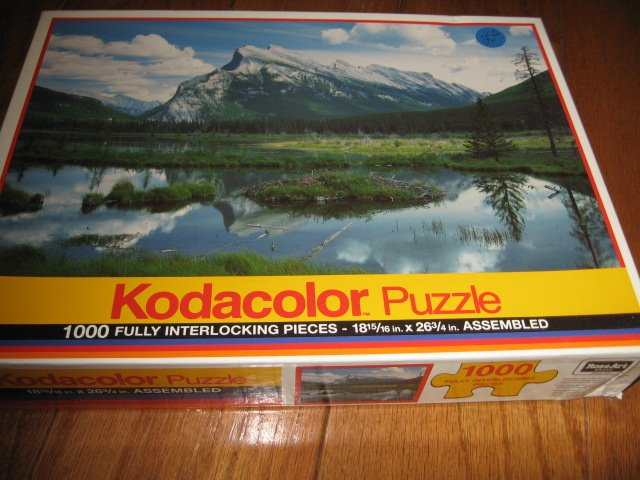 Image 0 of Rocky Mountains  Puzzle 1000 pieces 18 by 26 Kodacolor