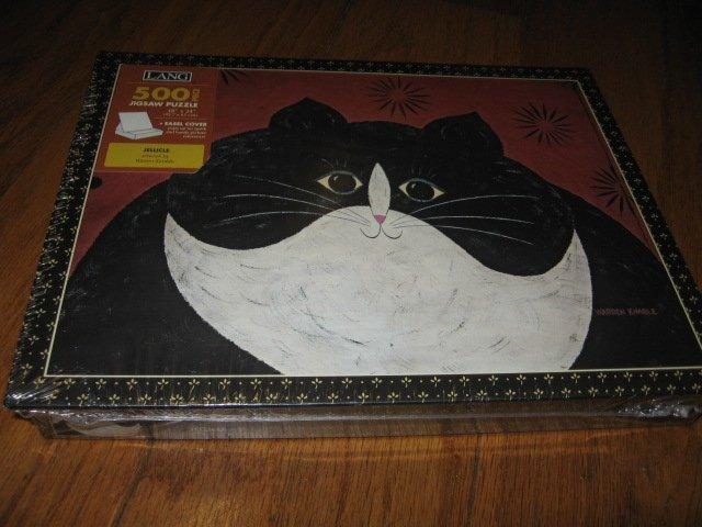 Jellicle cat 500 piece Puzzle Warren Kimble artist 18 by 24 inch