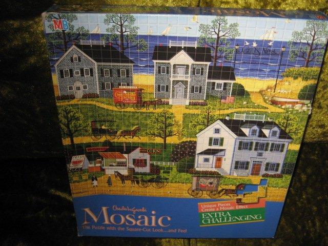 Gulls nest Charles Wysocki Mosaic Puzzle 16 by 19