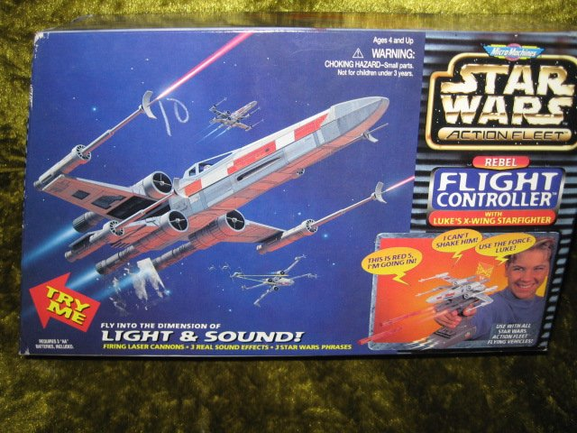 Star Wars Micro Machine Transforming Action Collection Seven Mint Unopened