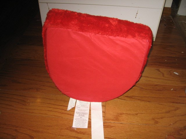Image 2 of ELMO  SESAME STREET pouting kids foam chair GREAT CONDITION
